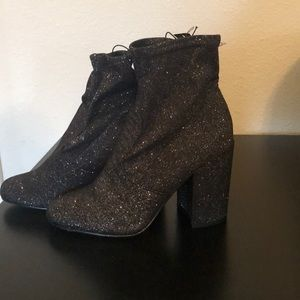 Sparkle booties